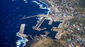 阿古渔港船客候船所の写真