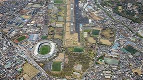 调布机场の写真