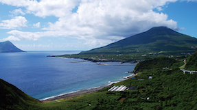 神湊港(八丈島)の写真