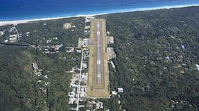 新島空港ターミナルの写真