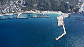 니지마항 여객선 대합실の写真