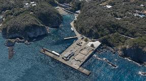 野伏港(式根島)の写真