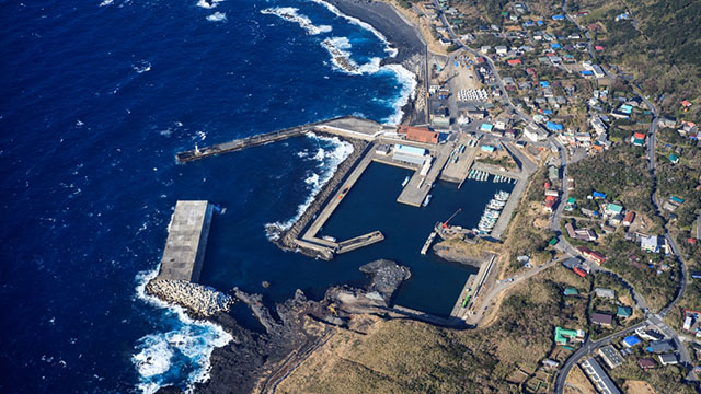 阿古漁港船客候船處