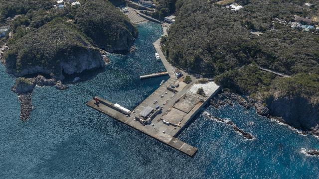 Nobushi Port (Shikinejima Island)