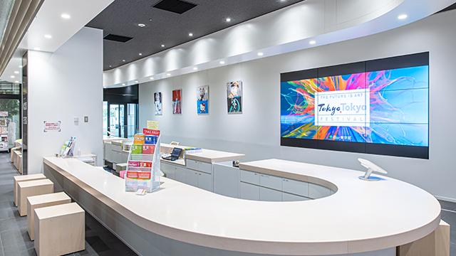 東京觀光資訊中心(新宿高速巴士總站 3樓)